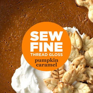 Sew Fine Thread Gloss Pumpkin Caramel