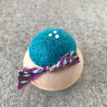 Load image into Gallery viewer, Brooklyn Haberdashery Turned Wood Pincushion Handmade in Japan