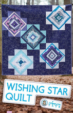 Load image into Gallery viewer, Crimson Tate Wishing Star Quilt Pattern
