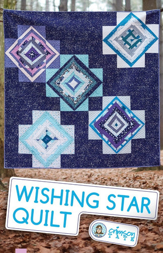 Crimson Tate Wishing Star Quilt Pattern