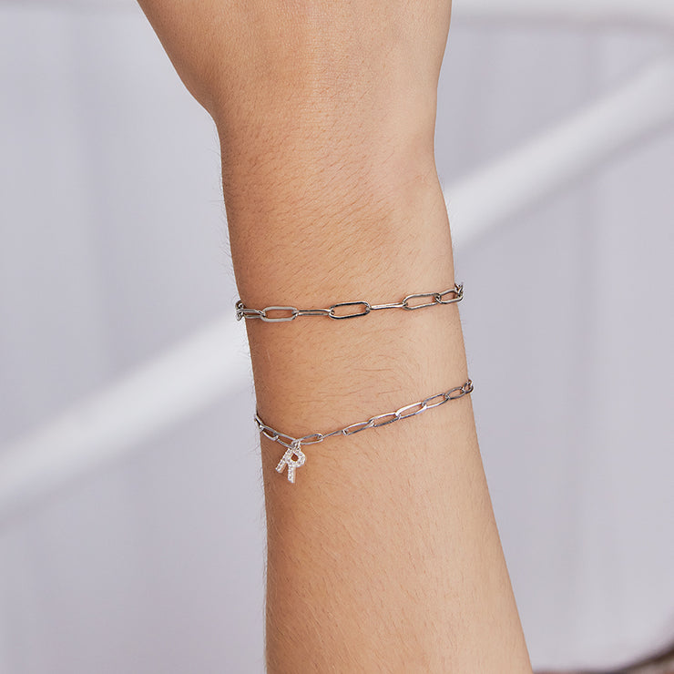 ANCHOR ZIRCON ARMBAND
