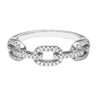 ICED PAVE RING