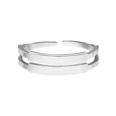 TWO ENGRAVE RING