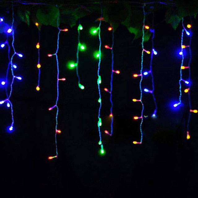 Christmas LED Curtain String