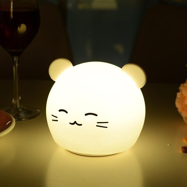 Cartoon Animal Night Light