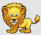 CoolWalls.ca Background Lion Safari Animals Cartoon Character