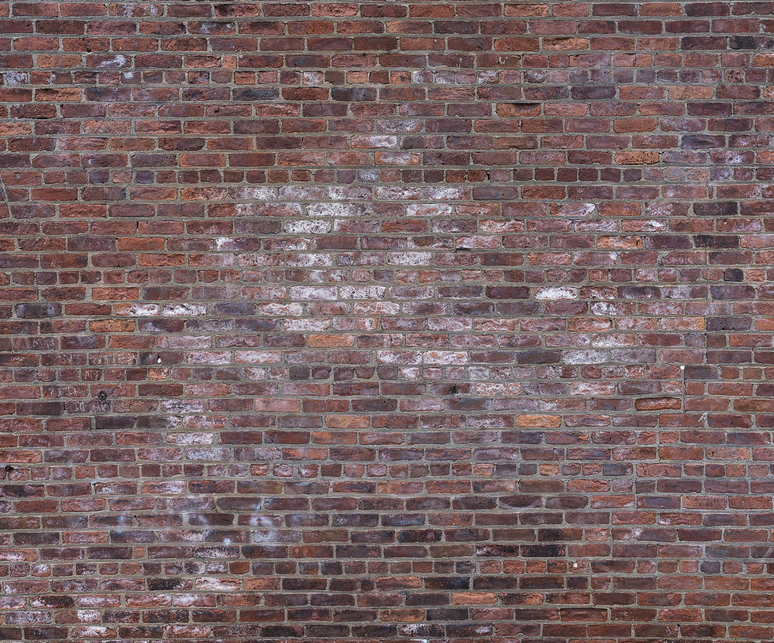 Weathered brick wall: GigaPixel Image