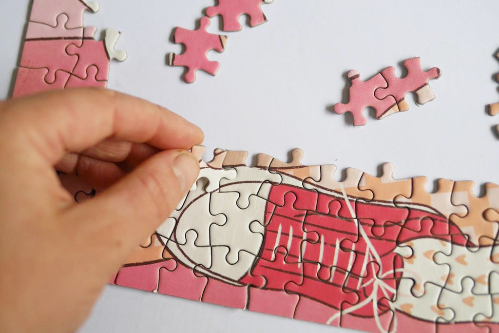 Five Steps On Completing A Jigsaw Puzzle