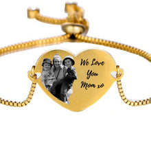 Load image into Gallery viewer, We Love You Mom Bracelet
