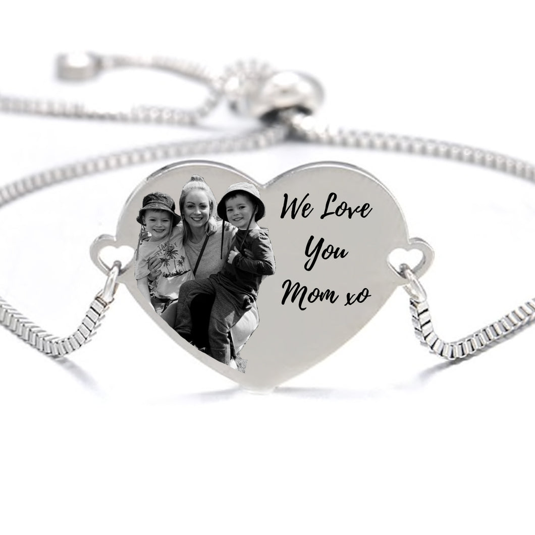 We Love You Mom Bracelet