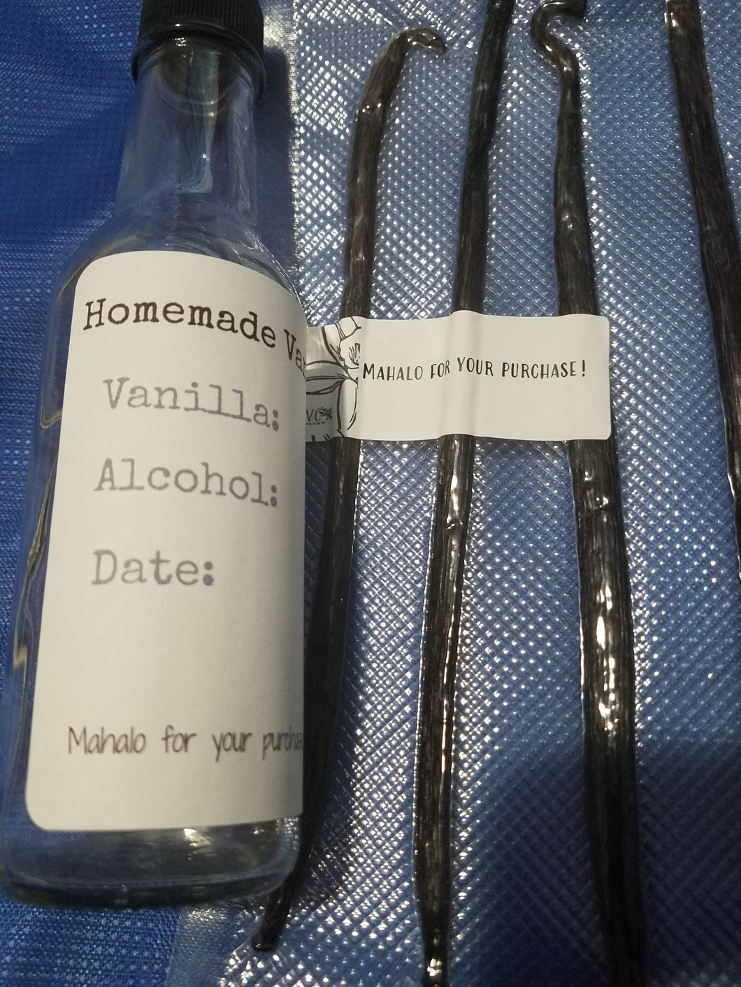 Vanilla extract kit DIY