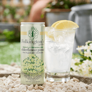 Gently Sparkling Elderflower Pressé