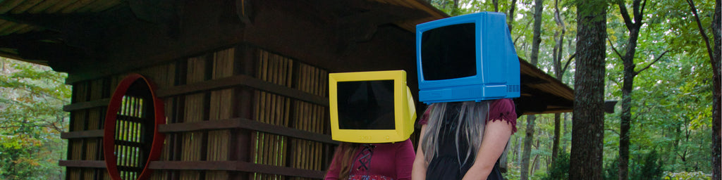 Two TV heads