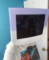 Custom Made Monitor or TV Head Cosplay Costume