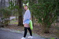 Green Animal Costume Fox Tail