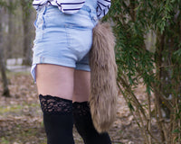 Brown Fox Animal Costume Tail