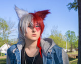 Todoroki wolf ears cat ears