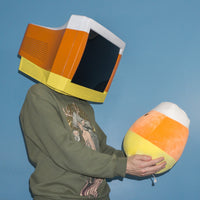 Candy Corn Monitor Head - Ready to Ship