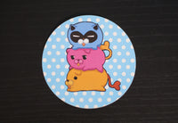 Xen Rebirth Poyo Poko Poku Stickers - 3 pack