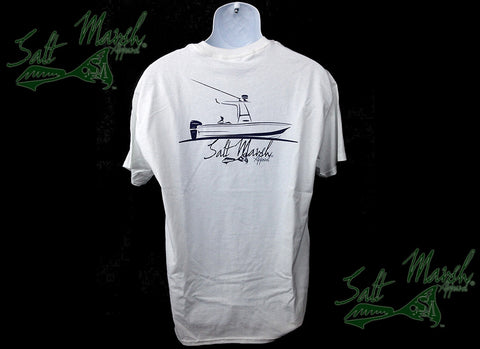 Salt Marsh Apparel - Boat Logo