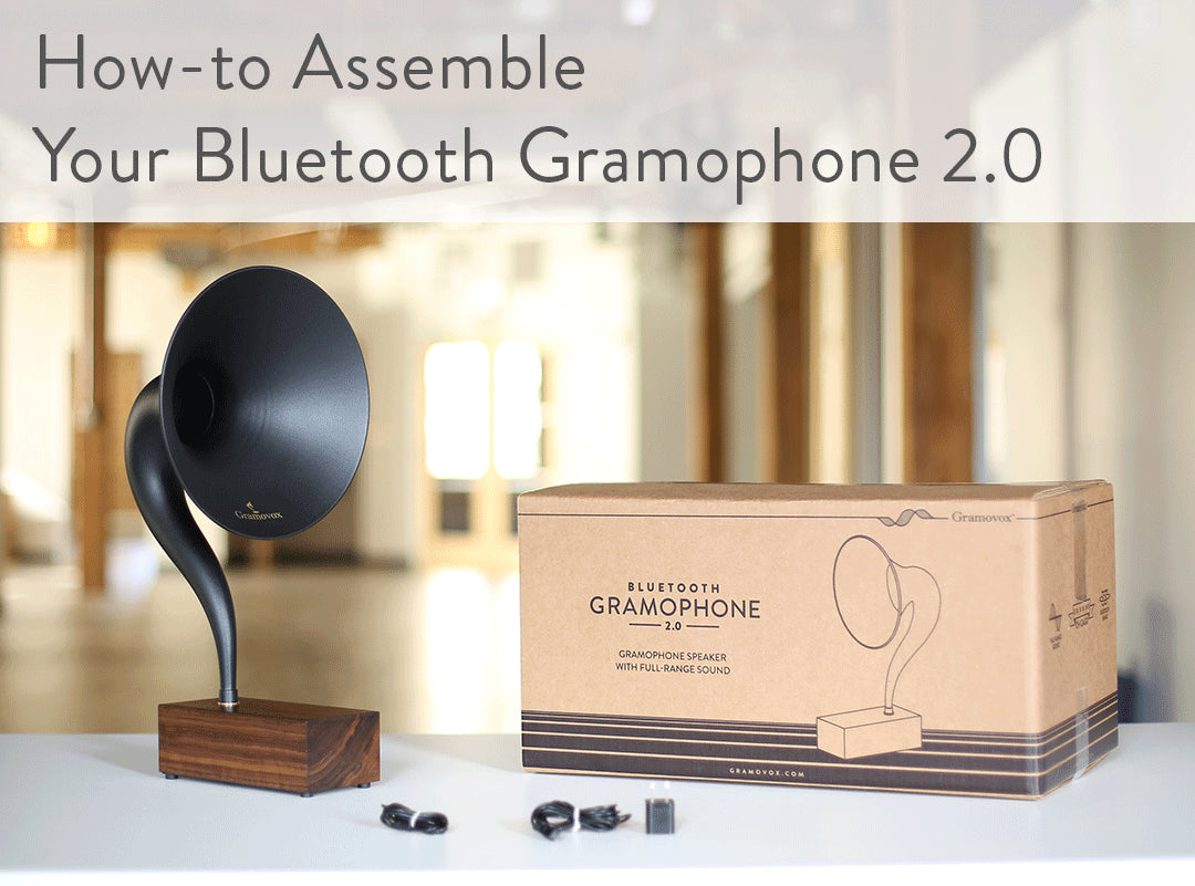 Floating Record Vertical Turntable – Vertical Record Player with Built-in Speakers | Support - How to Assemble Bluetooth Gramophone