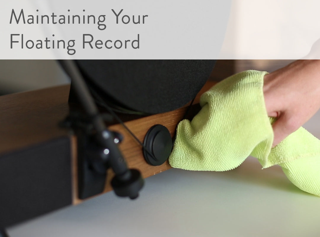 Floating Record Vertical Turntable – Vertical Record Player with Built-in Speakers | Support - How to Maintain