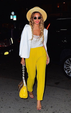 Beyonce Yellow Pants