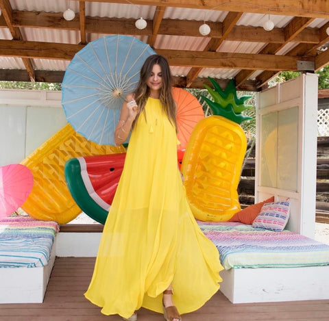 Show Me Your Mumu Yellow Maxi