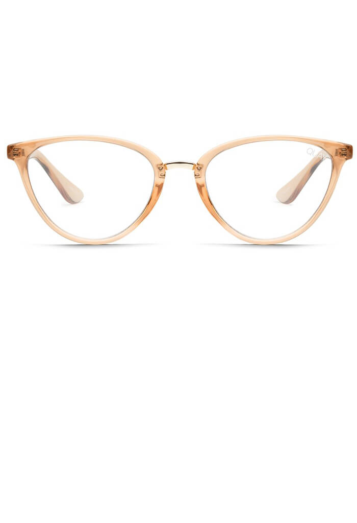 RUMORS BLUE LIGHT GLASSES - Brown (Champagne)