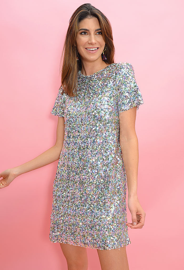 Shooting Star Dress-Funfetti