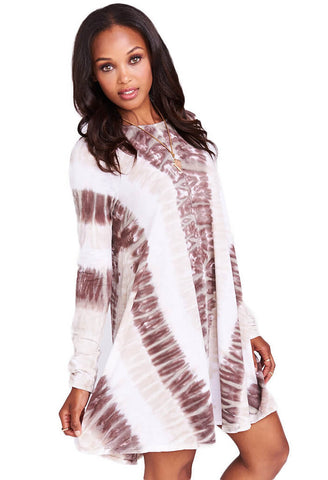 Tyler Tunic Dress ~ Desert Valley Tie Dye