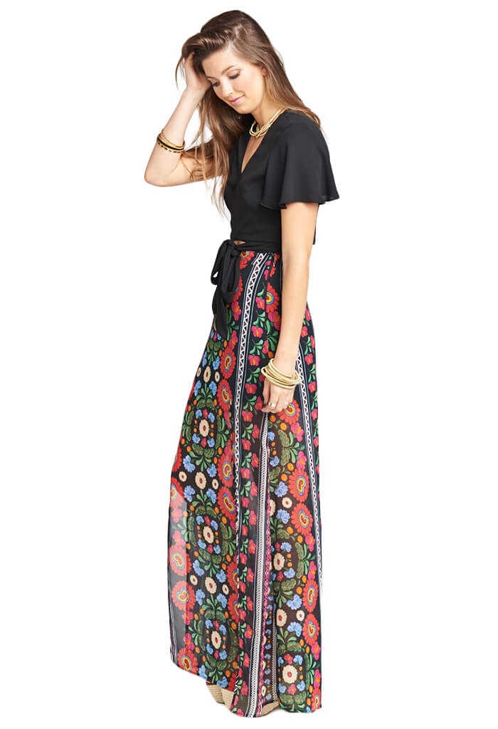 Show Me Your Mumu MICK DOUBLE SLIT SKIRT - MEXICALI