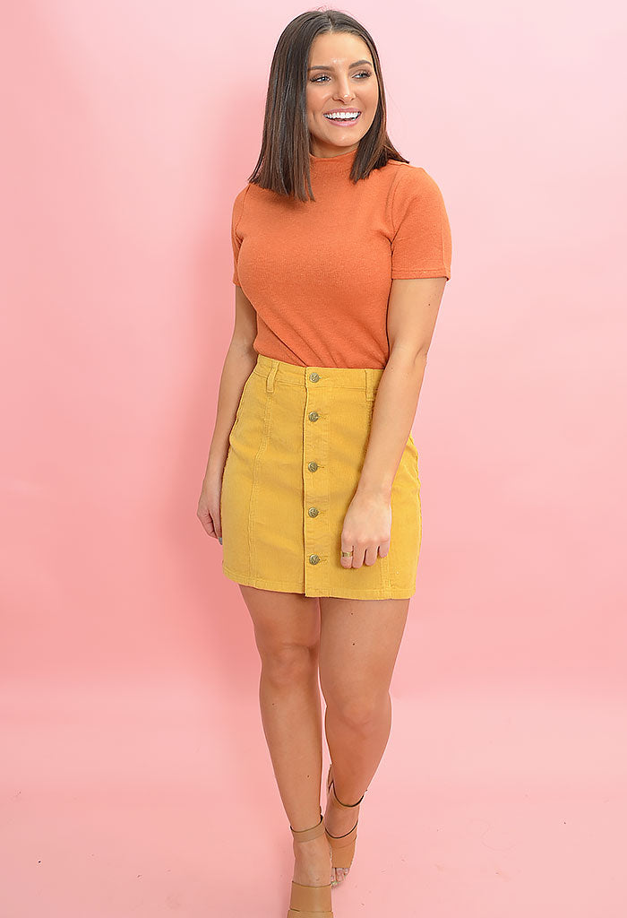 Laps Around the Sun Mini Skirt