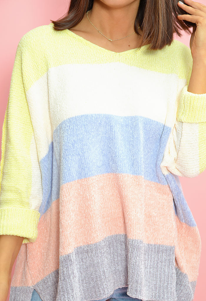 Candy Sunset Sweater