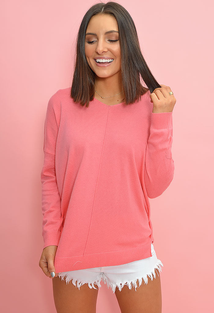 Brooke Sweater-Pink