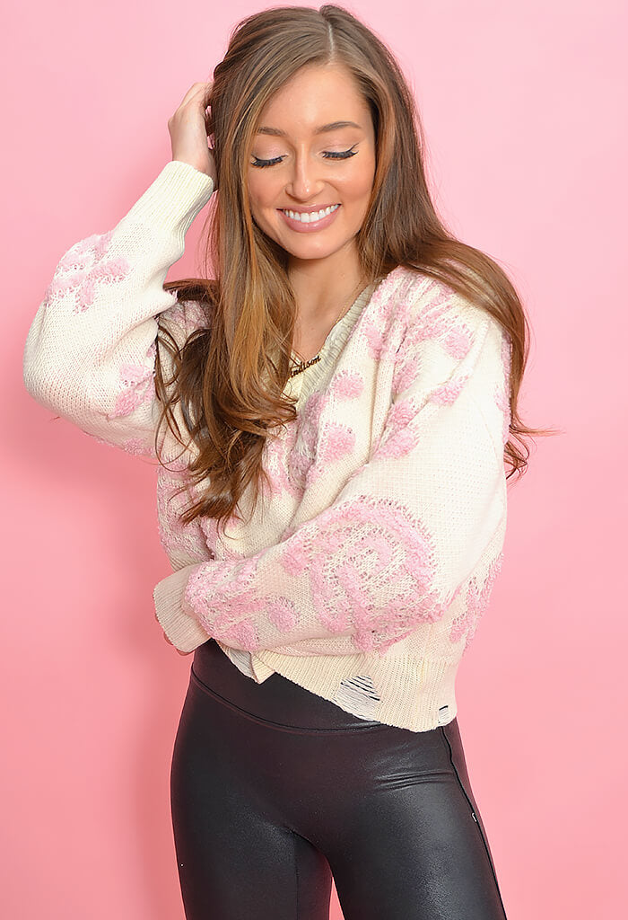KK Bloom Rose Water Sweater