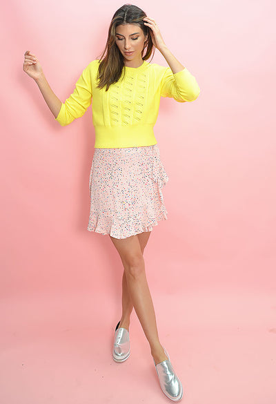 Reason to Party Skirt-Rosewater