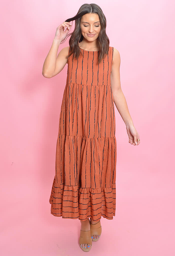 KK Bloom Penny Maxi Dress