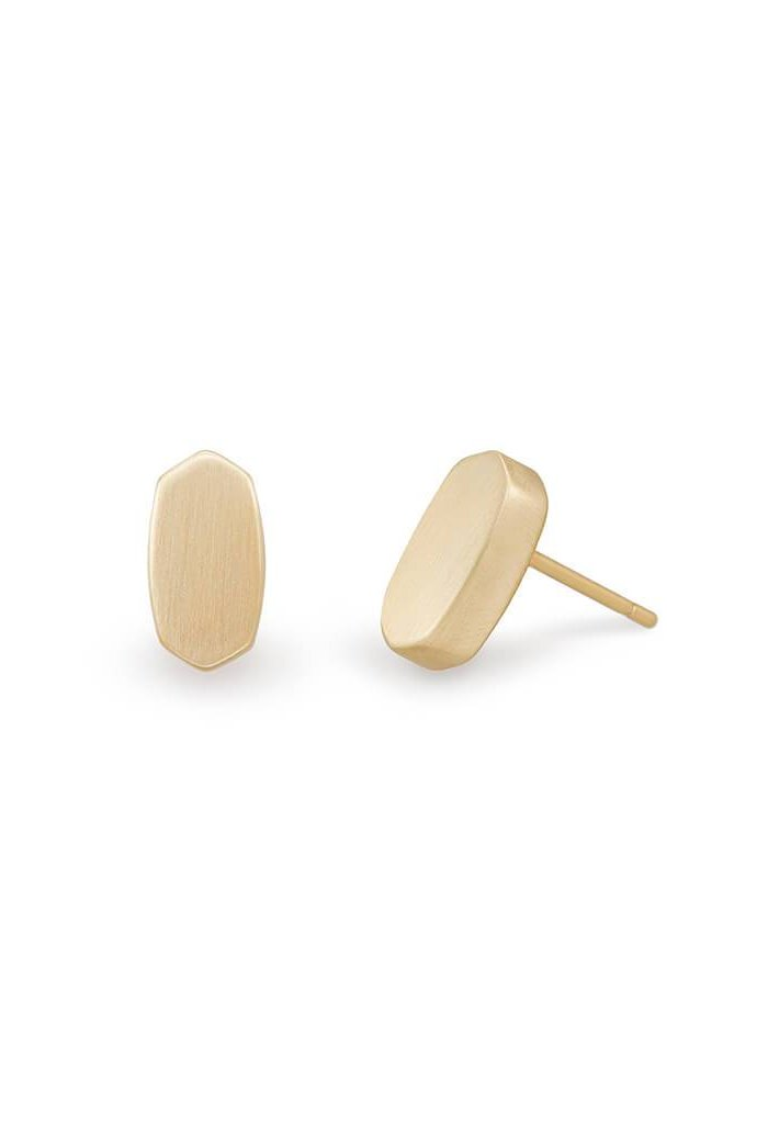 BARRETT STUD EARRINGS - Gold