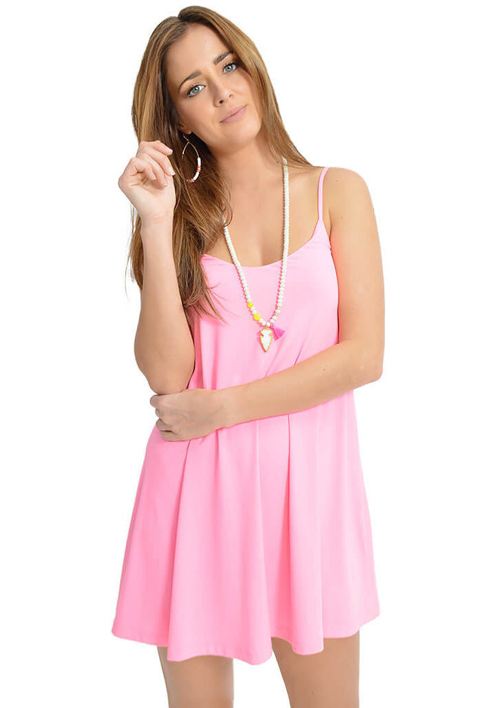 Susana Monaco Pastel Punch Drape Dress-front