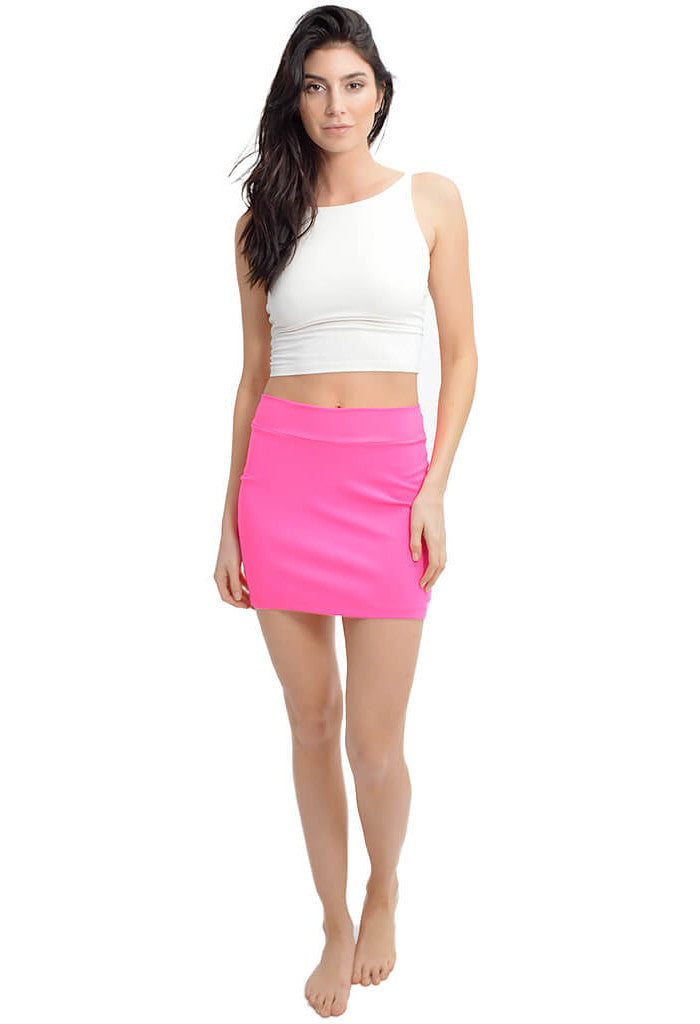 Susana Monaco Malibu Mini Skirt-full length
