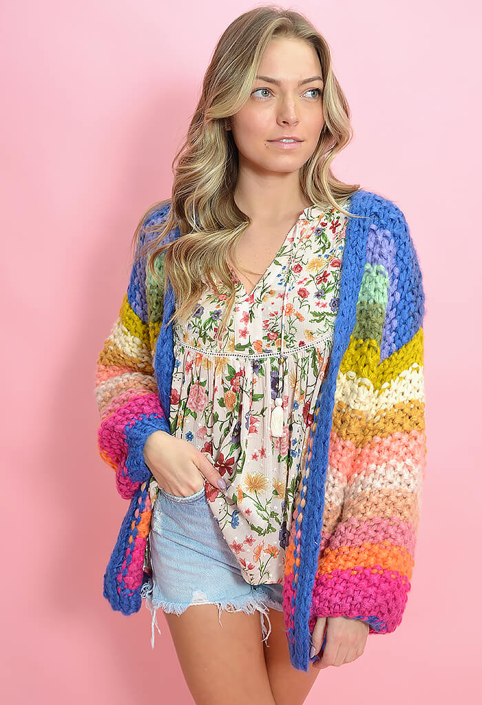 FRNCH Lobelia Cardigan