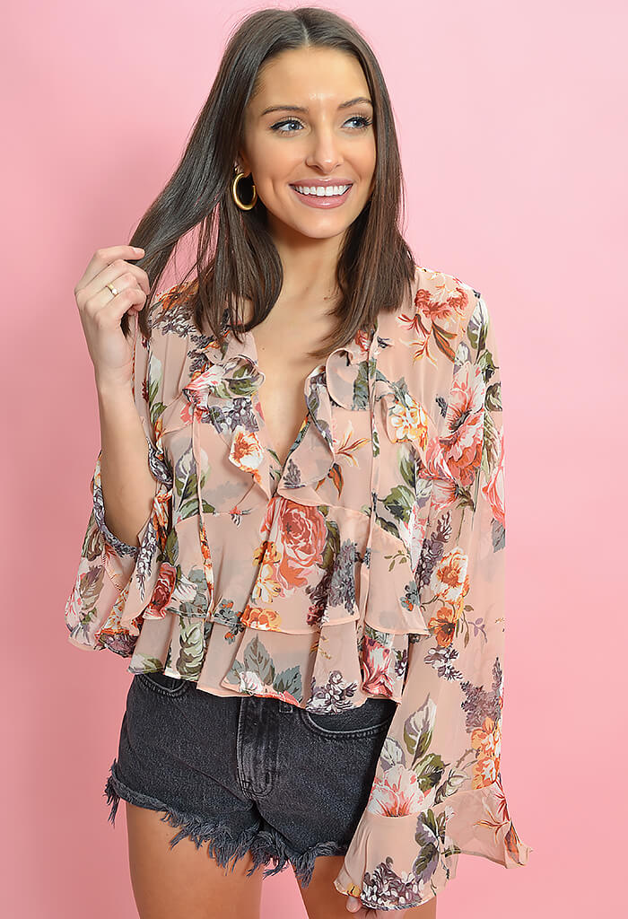 Blushing Rose Blouse