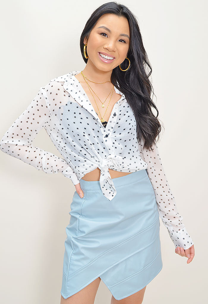 Interstellar Ivory Blouse