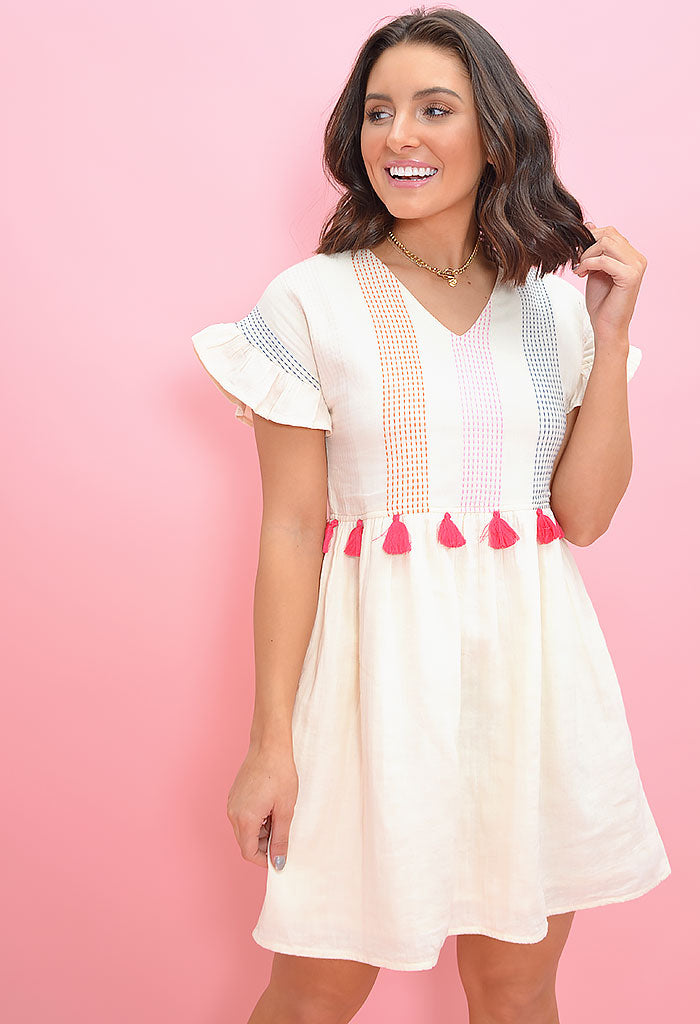 candy button dress