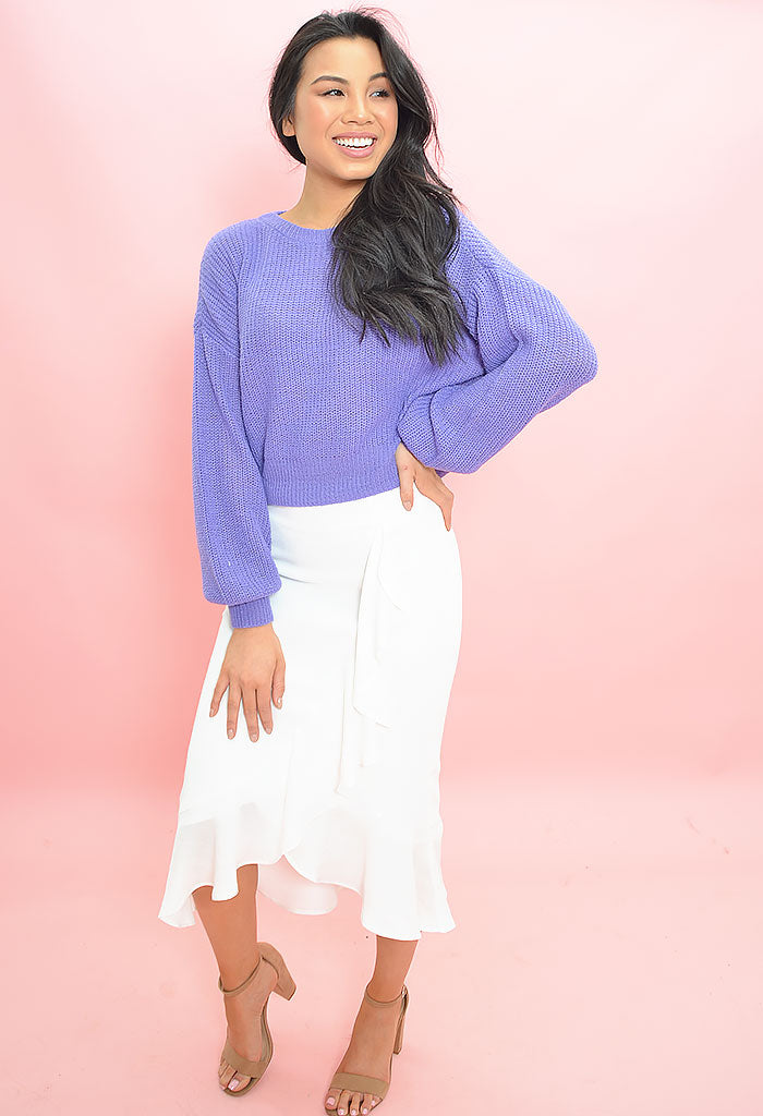 Roxanne Skirt Marshmallow