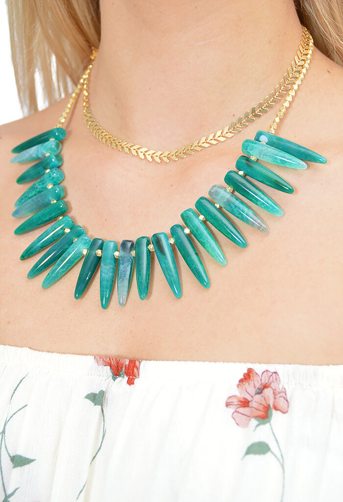 Love's Affect Bali Bungalow Necklace