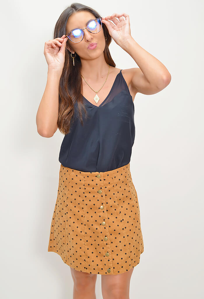 Polly Dot Skirt