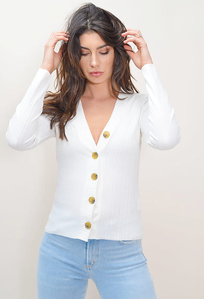 Button Front Yacht Top