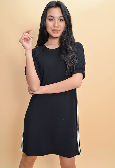 Baby Doll Dress-Black